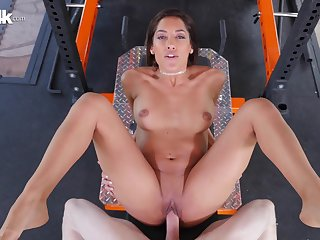 Chloe Amour fucked deep in her wet hairless snatch