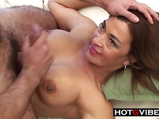 Latina Mature Devours 18 Years Old Cock - NAIL HARD FUCK