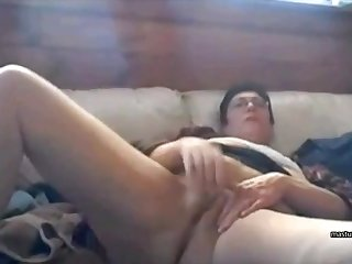 From time to time I masturbate in front of my webcam for my lover.