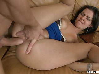 Hard dick in her butthole makes Marcella feel so good