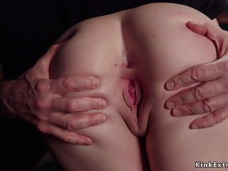 Slim trainee hoochie-coochie toyed and had intercourse