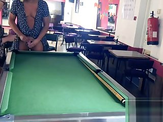 Angel's soft balls used as 8 ball pool targets