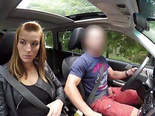 HUNT4K. Cuckold allows blond hair lady girl touch strangers knob