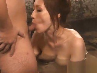 Beautiful busty Julia sucks cock part4