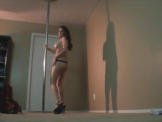 Phat Ass White Girl (PAWG) Erotic Strip Tease
