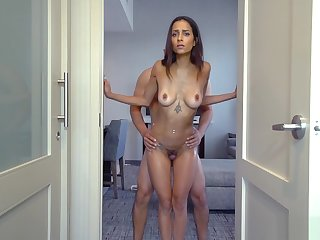 Slender Milf Stepmom And Stepson Have A Weird Blind Sex