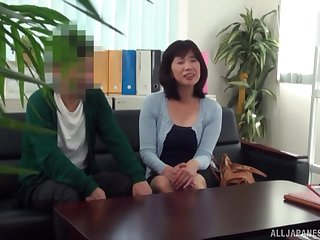 Marriage counseling about intimacy leads to sex on a sofa