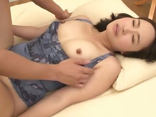 Japanese cutie Makimura Megumi loves to play with all of her toys