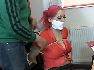 Secretary Elle in peril