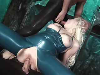 Serious hard sex and anal for the obedient mistress