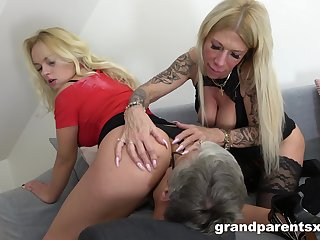 Wife loves sharing her husband's prick with her slutty best friend