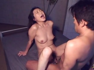 Asian babe Aiko Kanamori moans while getting her wet pussy banged