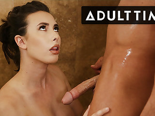 Babe Can't Stop Sucking Step Cousin's Slippery Dick!