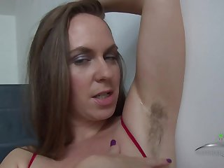 Hairy MILF Eden Shows Her Armpits